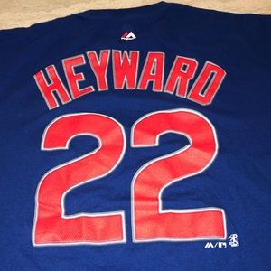 Jason Heyward Large Chicago Cubs T-Shirt